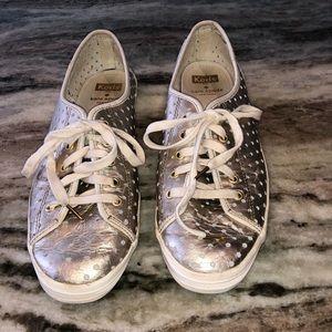 Keds for Kate Spade Metallic Sneakers